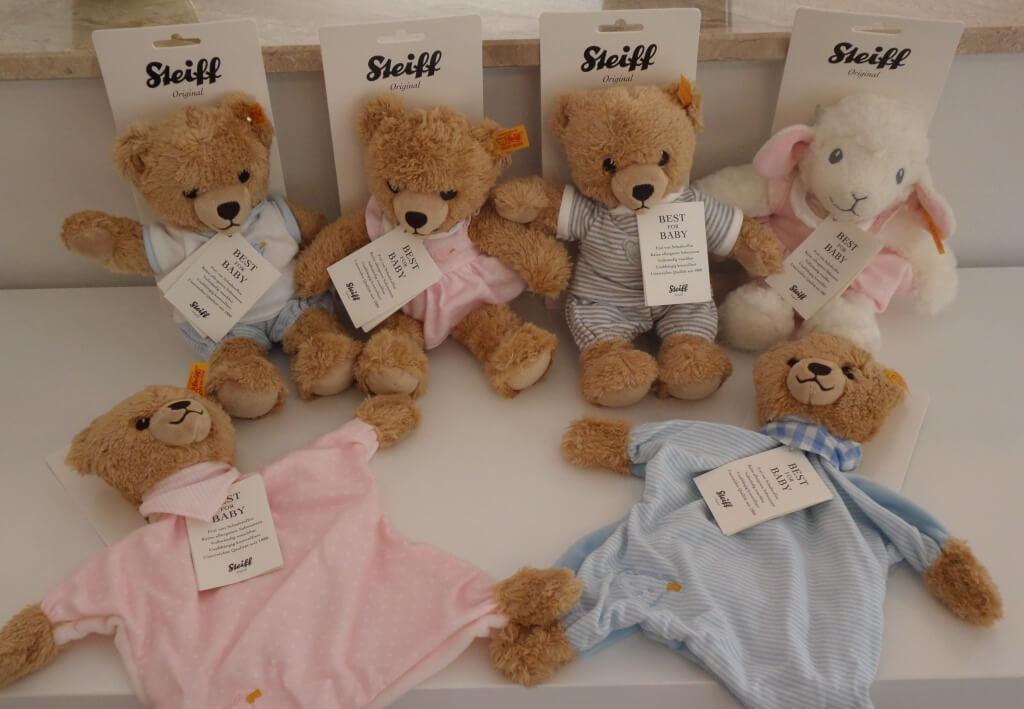 Schmusetücher und Teddys